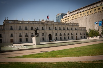 Palacio de La Moneda (Chile's presidential headquarters)