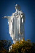 Statue of the Virgin - she stands 45ft high