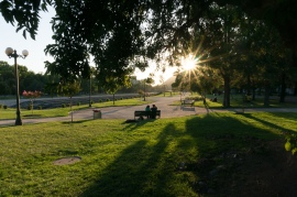 Local park in Valdivia