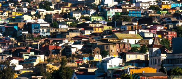 Local houses built into the cerro (hill)