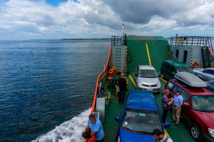 Short 30 minute crossing the Chacao channel to Chiloe.