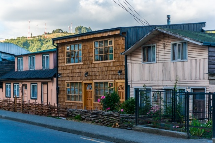 More palafito houses, Castro.
