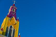 Castro's Catholic cathedral, Iglesia San Franscisco.