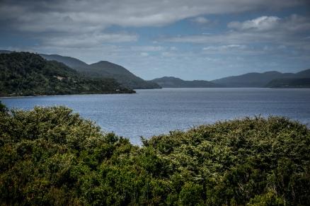 Views of Lago Huillinco