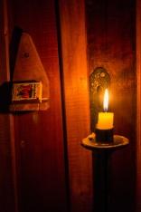 Inbuilt light switch.