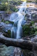 The waterfall at La Junta