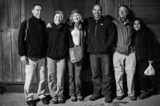 Navimag team! Pete, Karin, Michelle, Ben, Paul, Carola