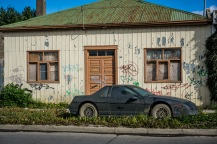 A lovely house and car in Punta Arenas