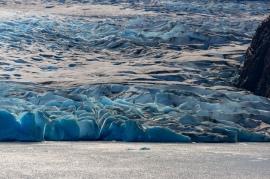 Close up of Glacier Grey