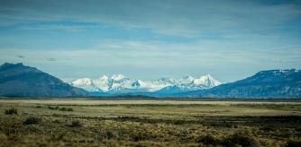 Los Glaciares National Park - heading to Perito Moreno Glacier