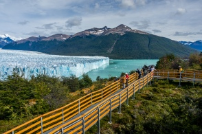 Perito Moreno Glacier north facing